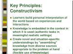 key principles constructivism