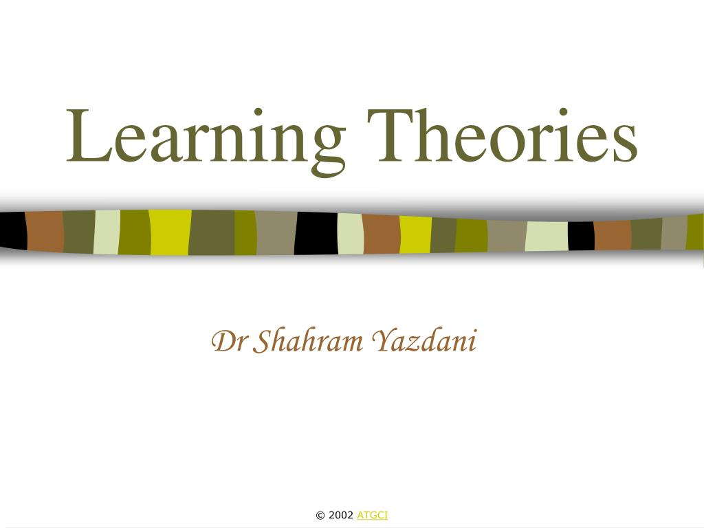 learning theories l.