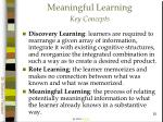 meaningful learning key concepts52