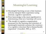meaningful learning50