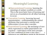 meaningful learning53