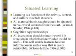 situated learning76