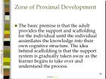 zone of proximal development62
