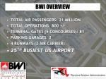 bwi overview