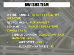 bwi sms team