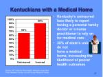 kentuckians with a medical home