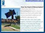 have you heard of maroochydore9