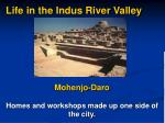 life in the indus river valley7