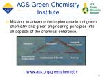 acs green chemistry institute7