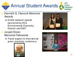 annual student awards