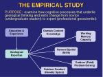 the empirical study