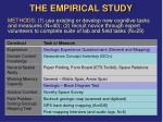 the empirical study5