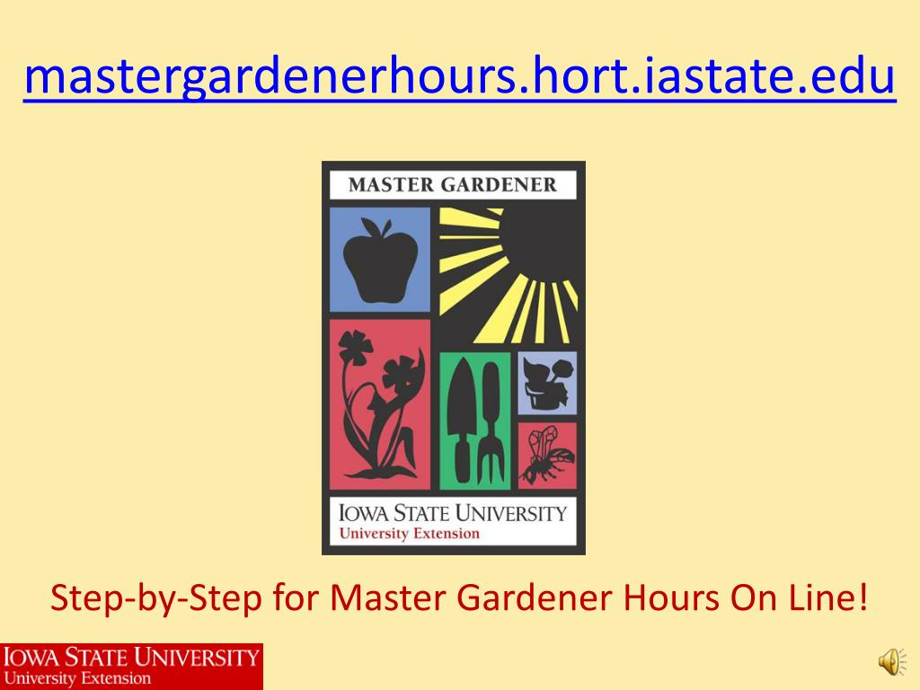 mastergardenerhours hort iastate edu l.