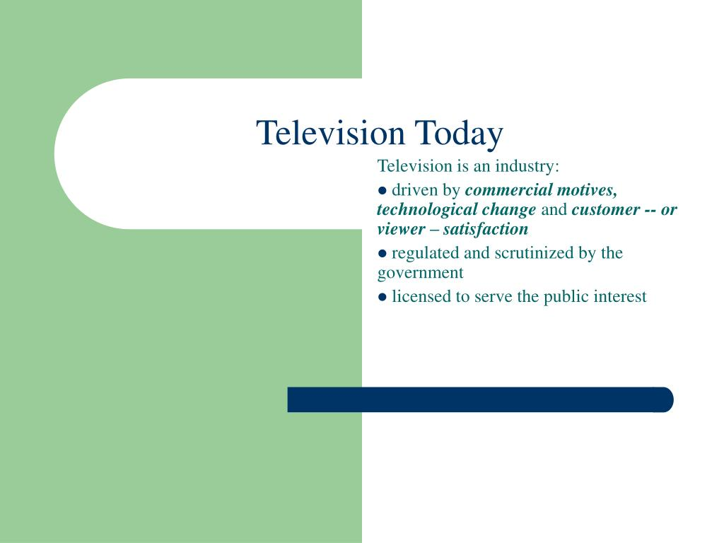 television today l.