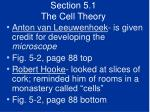 section 5 1 the cell theory5