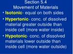 section 5 4 movement of materials43