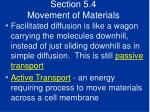 section 5 4 movement of materials47