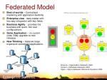 federated model