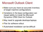 microsoft outlook client