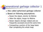 generational garbage collector 1