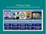 finding cases http ublib buffalo edu libraries projects cases case html