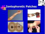 iontophoretic patches50