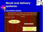 novel oral delivery systems36