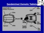 sandwiched osmotic tablets