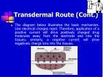 transdermal route cont47
