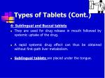 types of tablets cont11