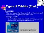types of tablets cont14