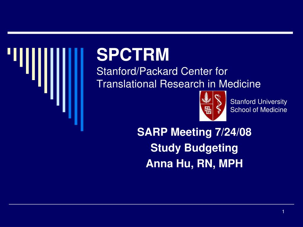 spctrm stanford packard center for translational research in medicine l.