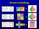 domain unfoldings