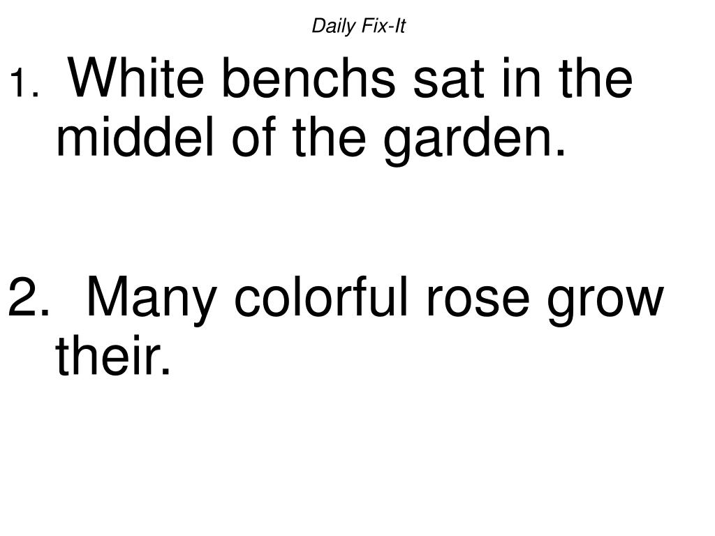 daily fix it white benchs sat in the middel of the garden many colorful rose grow their l.