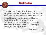 field feeding