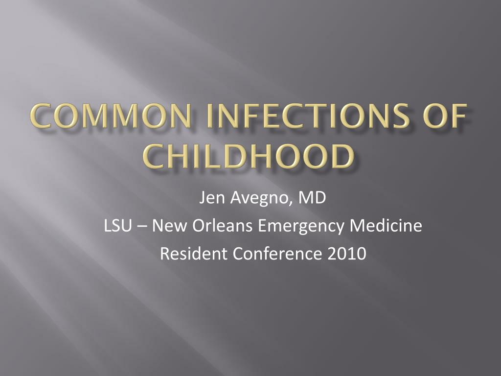 common infections of childhood l.