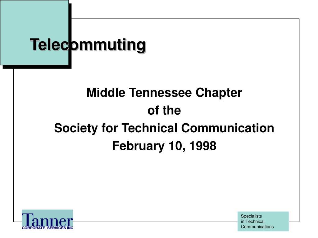 telecommuting l.