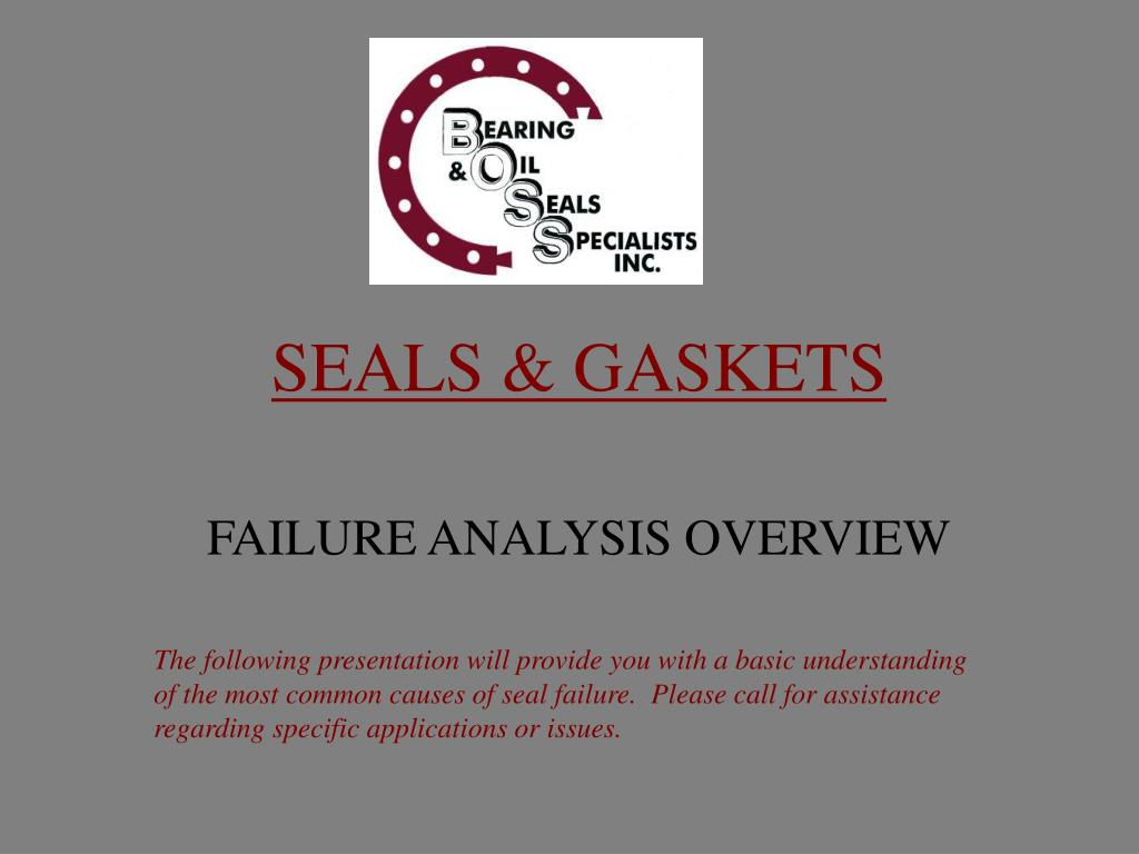 seals gaskets l.
