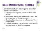 basic design rules regions