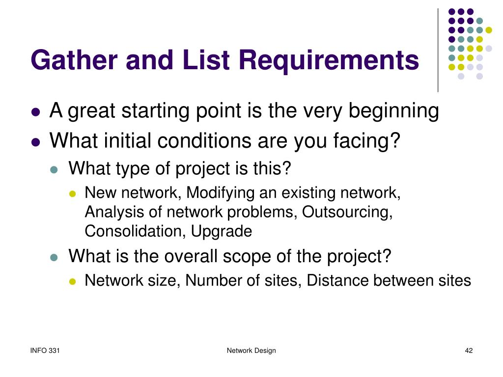 Gather and List Requirements