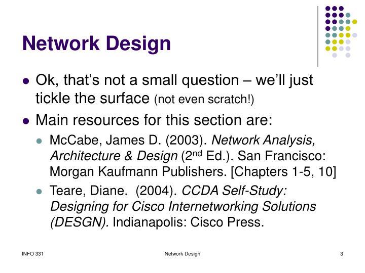 Network design3