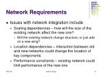 network requirements31