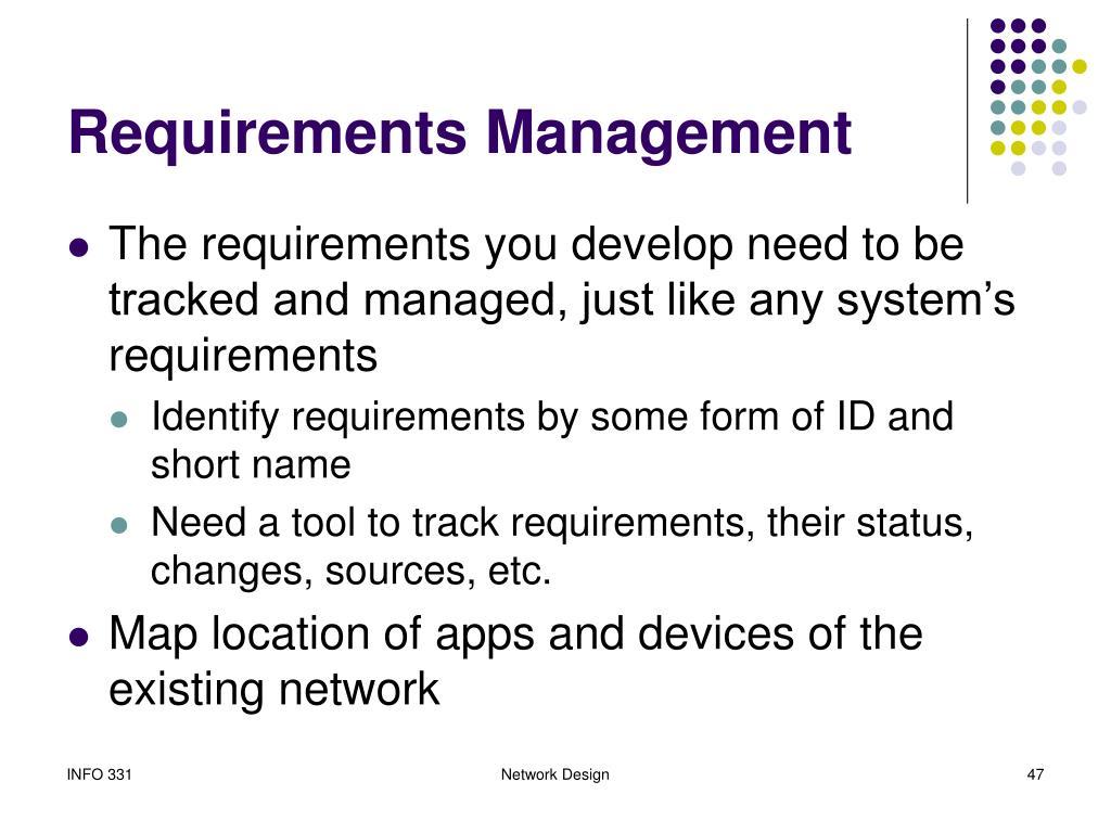 Requirements Management