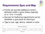 requirements spec and map39