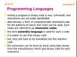 programming languages53