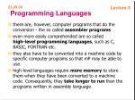 programming languages54