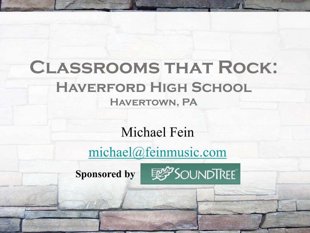 classrooms that rock haverford high school havertown pa l.