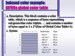 indexed color example gif89a global color table