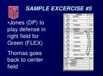 sample excercise 534