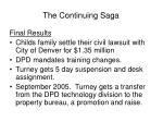 the continuing saga18